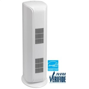 DanbyDANBY Air Purifier Tower for Homes and Offices up to 188 sq. ft., True HEPA filter, UV-C with Photo-Catalyst filters, Cleans up 99.97% of Particles, Smoke, Dust, Pollens, Danders, 121 CADR, 247 CFM