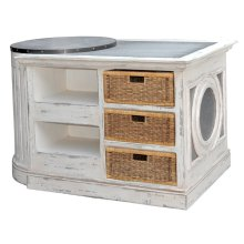 Demi-lune Kitchen Island