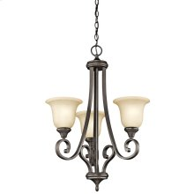 Monroe Collection Chandelier 3Lt OZ