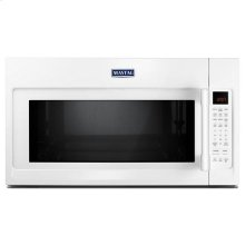 Maytag® Over-The-Range Microwave With WideGlide™ Tray - 2.1 Cu. Ft. - White