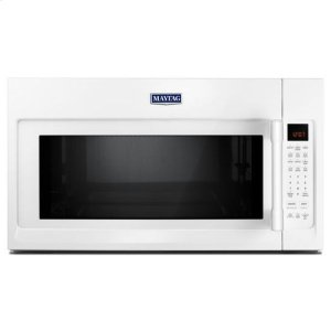 MaytagMaytag® Over-The-Range Microwave With WideGlide™ Tray - 2.1 Cu. Ft. - White