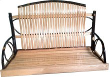 """54"""" Swing ; Hickory/Oak (Swing Chairs Included)"""