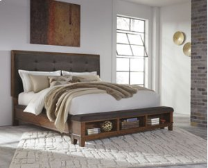Ralene - Medium Brown 3 Piece Bed Set (Queen)