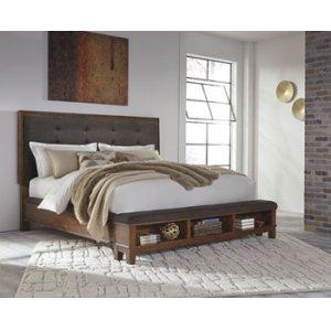Ashley Furniture Ralene - Medium Brown 3 Piece Bed Set (Queen)