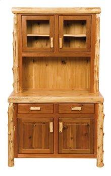 "Buffet & Hutch - 48"" 48-inch, Natural Cedar"