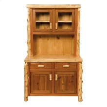 Buffet & Hutch - 48-inch - Natural Cedar