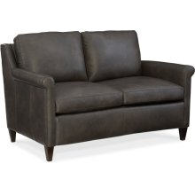 Bradington Young Timber Stationary Loveseat 8-Way Hand Tie 547-75