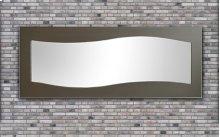 Waves Contemporary Mirror