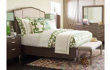 Soho by Rachael Ray Upholstered Bed, Queen 5/0