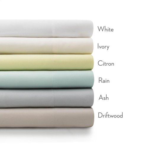 Rayon From Bamboo - King Pillowcase Ivory