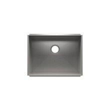 """UrbanEdge® 003629 - undermount stainless steel Kitchen sink , 24"""" × 18"""" × 10"""""""
