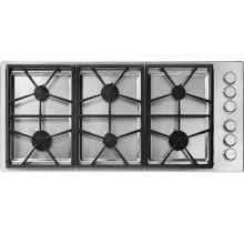 "Heritage 46"" Professional Gas Cooktop, Liquid Propane"