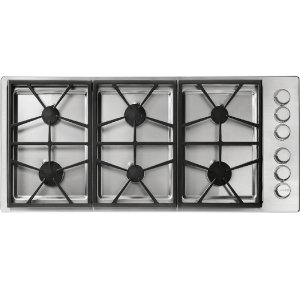 "DacorHeritage 46"" Professional Gas Cooktop, Natural Gas"