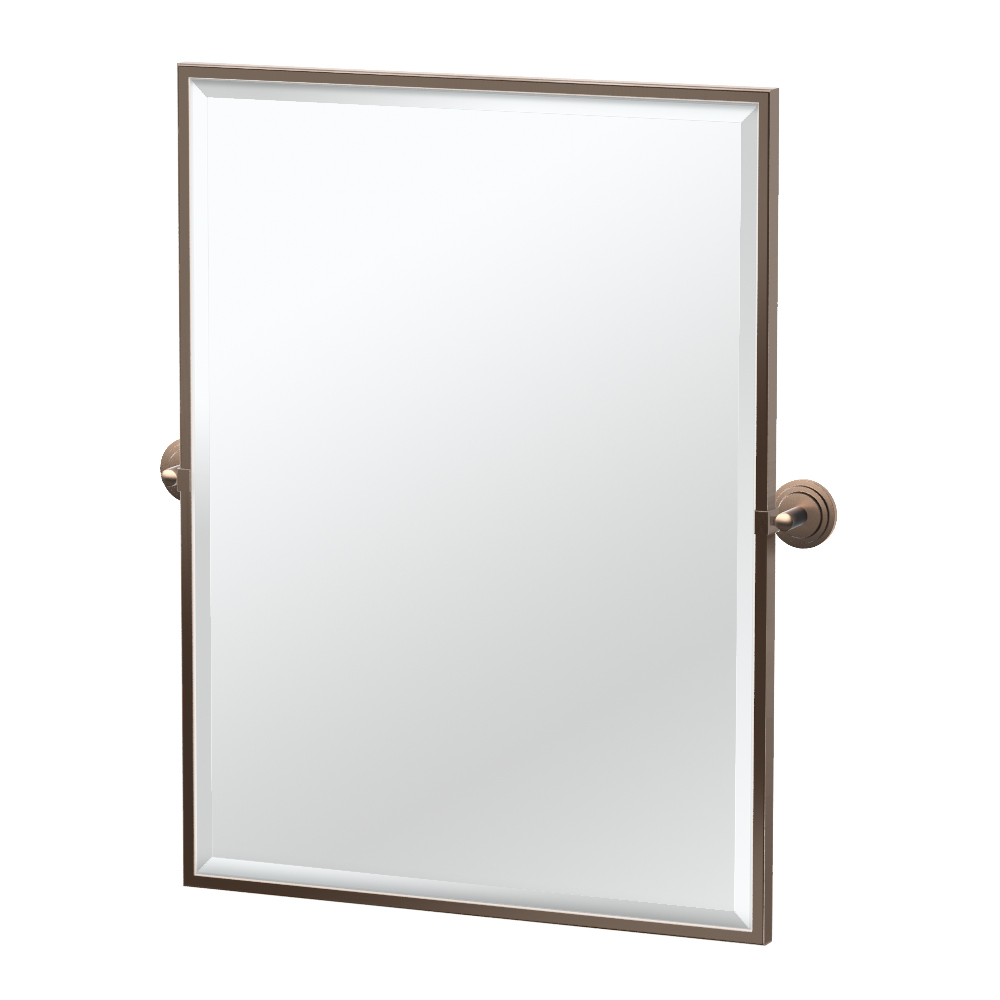 Marina Framed Rectangle Mirror in Bronze