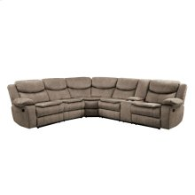 3-Piece Sectional with RAF Console