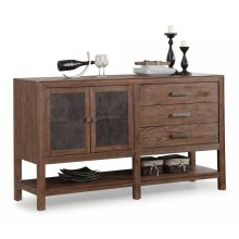 Hampton Buffet with Shelving