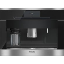 CVA 6800 Built-in coffee machine with bean-to-cup system - the Miele all-rounder for the highest demands.