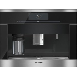 MieleCVA 6805 Built-in coffee machine with bean-to-cup system - the Miele all-rounder for the highest demands.