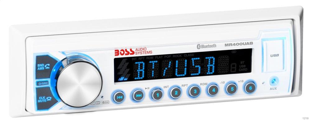 Single-DIN, MECH-LESS Multimedia Player (no CD/DVD) Bluetooth