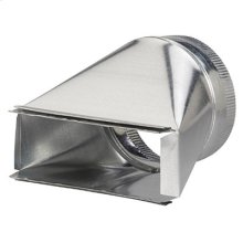 """Transition for 7"""" to 3-1/4"""" x 10"""" Duct for Range Hoods and Bath Ventilation Fans"""