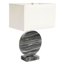 Simi Table Lamp White & Black Product Image