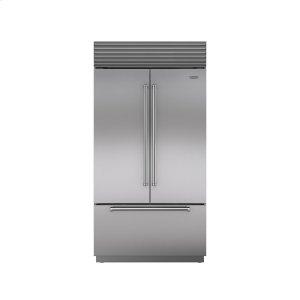 "Subzero42"" Built-In French Door Refrigerator/Freezer with Internal Dispenser"