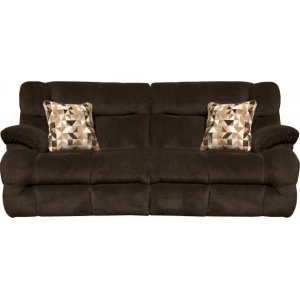 CatnapperPower Headrest Lay Flat Reclining Sofa