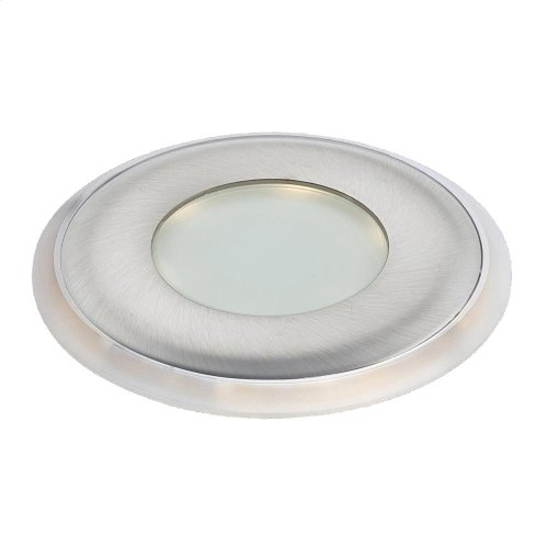 INFLOOR,0.4W LED - Satin Nickel