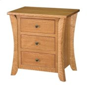 Chandler 3 Drawer Nightstand Product Image