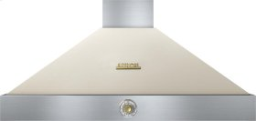 Hood DECO 48'' Cream matte, Gold 1 power blower, analog control, baffle filters
