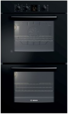"""30"""" Double Wall Oven 300 Series - Black HBL3560UC"""