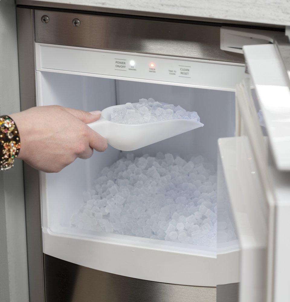 Unc15njii Ge Ice Maker 15 Inch Nugget Ice Custom Panel