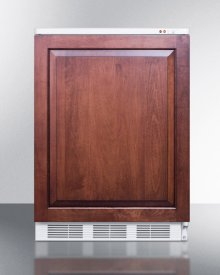 Commercial Built-in Medical All-freezer Capable of -25 C Operation; Door Accepts Full Overlay Panels