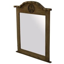 Mirror W/Rope & Star Medio Finish