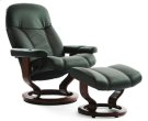 Stressless Ambassador Large Recliner and Ottoman Product Image