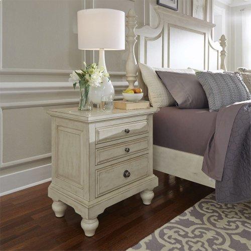 Queen Poster Bed, Dresser & Mirror, Chest, N/S