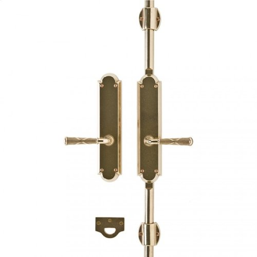 "Arched Cremone Bolt 2 1/2"" x 11"" Silicon Bronze Medium"