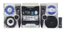 Mini Hi-Fi System with 3 CD Changer + WO