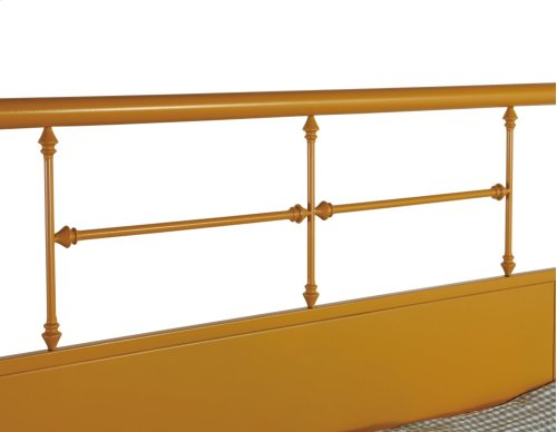 Emerald Home Fairfield Metal Bed Butterscotch B202-08hbfbrbrn