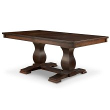 Georgetown Double Pedestal Table 42x72+2-12