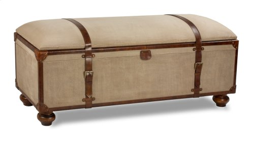 Canvas Trunk Bench