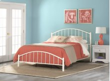 Cottage Bed In One - Twin - White