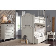 Brookhaven Youth Twin over Twin Bunk Bed