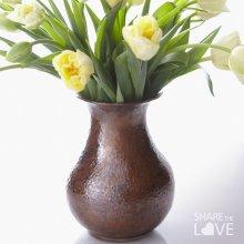 Antique Copper Santa Cruz Copper Vase