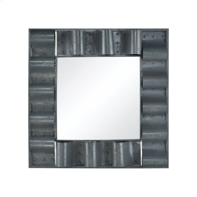 Haute Tin Roof Wall Mirror