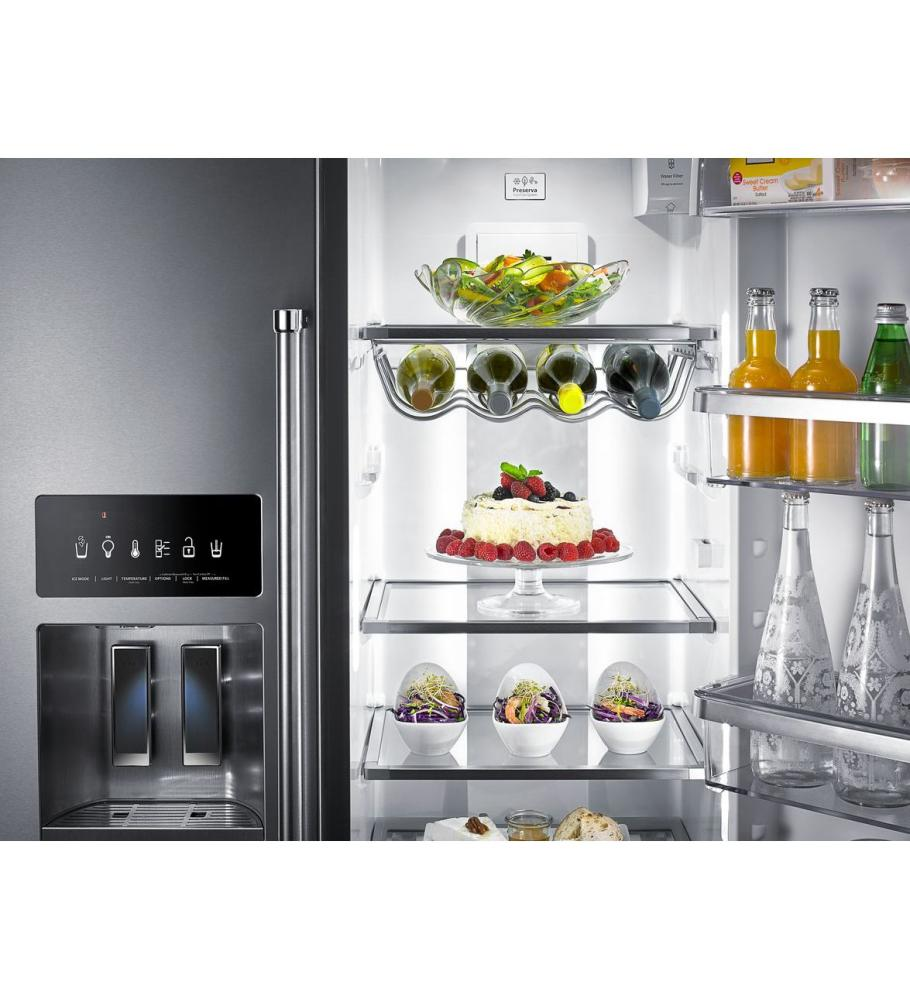 Exceptionnel KITCHENAID 22.7 Cu. Ft. Counter Depth Side By Side Refrigerator With  Exterior