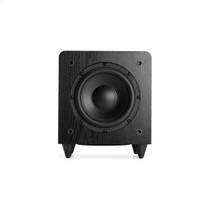 "Sunfire8"" Dual Driver 200w Powered Sub - Black Ash"