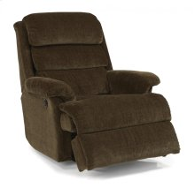 Yukon Fabric Power Rocking Recliner