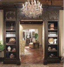 """Doorway with Bookcases - 48"""""""