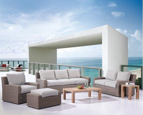 Emerald Home Reims Armless Chair Spuncrylic Grey Wicker Ou1207c-15-1-09